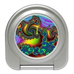 Lucy in the Sky With Diamonds Fractal Travel Alarm Clock