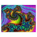 Lucy in the Sky With Diamonds Fractal Jigsaw Puzzle (Rectangular)