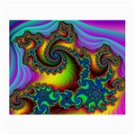 Lucy in the Sky With Diamonds Fractal Glasses Cloth