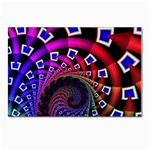 Groovy 60s Shag Fractal Postcards 5  x 7  (Pkg of 10)