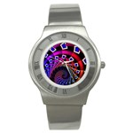 Groovy 60s Shag Fractal Stainless Steel Watch