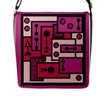 Modern BoreDoodle Flap Messenger Bag (L)