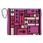 Modern BoreDoodle Canvas Cosmetic Bag (XXL)