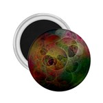 Gothic Swiss Cheese Fractal Fantasy 2.25  Magnet