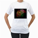 Gothic Swiss Cheese Fractal Fantasy Women s T-Shirt