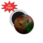 Gothic Swiss Cheese Fractal Fantasy 1.75  Magnet (10 pack)
