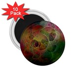 Gothic Swiss Cheese Fractal Fantasy 2.25  Magnet (10 pack)