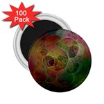 Gothic Swiss Cheese Fractal Fantasy 2.25  Magnet (100 pack)