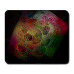 Gothic Swiss Cheese Fractal Fantasy Large Mousepad