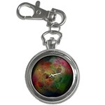 Gothic Swiss Cheese Fractal Fantasy Key Chain Watch