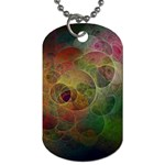 Gothic Swiss Cheese Fractal Fantasy Dog Tag (Two Sides)
