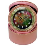Gothic Swiss Cheese Fractal Fantasy Jewelry Case Clock
