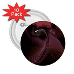 Dark Interplanetary Rebirth Fractal 2.25  Button (10 pack)