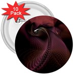 Dark Interplanetary Rebirth Fractal 3  Button (10 pack)