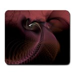 Dark Interplanetary Rebirth Fractal Large Mousepad