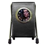 Gothic Faery Elf Woman Fantasy at Night Pen Holder Desk Clock