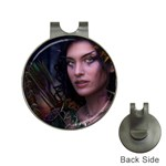 Gothic Faery Elf Woman Fantasy at Night Golf Ball Marker Hat Clip