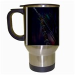 Gothic Faery Elf Woman Fantasy at Night Travel Mug (White)
