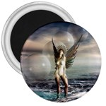 Gothic Angel in Future Fantasy World 3  Magnet