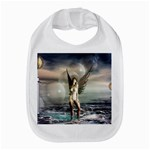 Gothic Angel in Future Fantasy World Bib