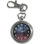Gothic Dark Forest with Night Fog Key Chain Watch