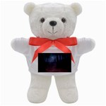 Gothic Dark Forest with Night Fog Teddy Bear