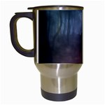 Gothic Dark Forest with Night Fog Travel Mug (White)