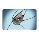 Goth Demon Snake Eye Breaking Through Magnet (Rectangular)