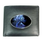 Gothic Blue Ice Crystal Palace Fantasy Wallet