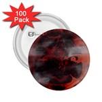 Bloody Gothic Demon Skull Moon Goth Art 2.25  Button (100 pack)