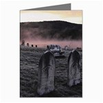 Gothic Old Graveyard Cemetary Goth Greeting Cards (Pkg of 8)
