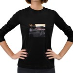 Gothic Old Graveyard Cemetary Goth Women s Long Sleeve Dark T-Shirt