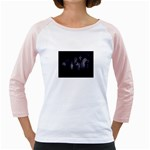 Gothic Graveyard Graves at Night Dark Goth Girly Raglan