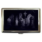 Gothic Graveyard Graves at Night Dark Goth Cigarette Money Case