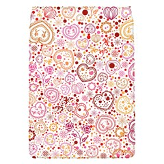 Ornamental Pattern With Hearts And Flowers  Flap Covers (s)