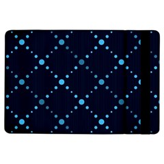 Seamless Geometric Blue Dots Pattern  Ipad Air Flip