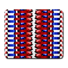 The Patriotic Flag Large Mousepads by SugaPlumsEmporium