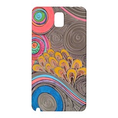 Rainbow Passion Samsung Galaxy Note 3 N9005 Hardshell Back Case by SugaPlumsEmporium