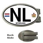 NL - Netherlands Euro Oval Money Clip (Oval)