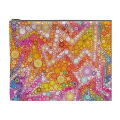 Sunshine Bubbles Cosmetic Bag (xl) by KirstenStar