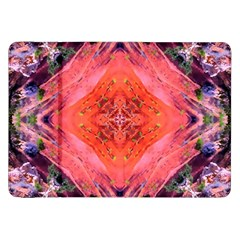 Boho Bohemian Hippie Retro Tie Dye Summer Flower Garden Design Samsung Galaxy Tab 8 9  P7300 Flip Case by CrypticFragmentsDesign