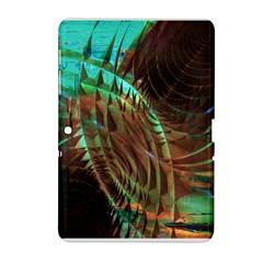 Metallic Abstract Copper Patina  Samsung Galaxy Tab 2 (10 1 ) P5100 Hardshell Case  by CrypticFragmentsDesign