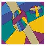Unknown Abstract Modern Art By Eml180516 Large Satin Scarf (Square)