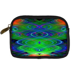 Neon Night Dance Party Digital Camera Cases by CrypticFragmentsDesign