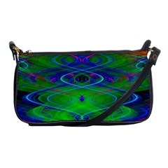 Neon Night Dance Party Shoulder Clutch Bags by CrypticFragmentsDesign