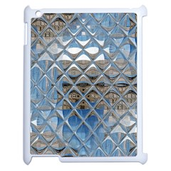 Mirrored Glass Tile Urban Industrial Apple Ipad 2 Case (white) by CrypticFragmentsDesign