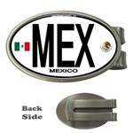 MEX - Mexico Euro Oval Money Clip (Oval)