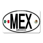 MEX - Mexico Euro Oval Magnet (Rectangular)