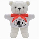 MEX - Mexico Euro Oval Teddy Bear