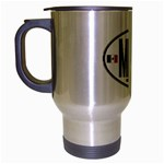 MEX - Mexico Euro Oval Travel Mug (Silver Gray)